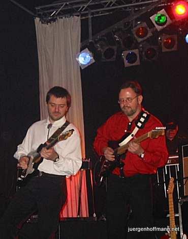Mit Peter Windisch von Amarillo in Kulmbach