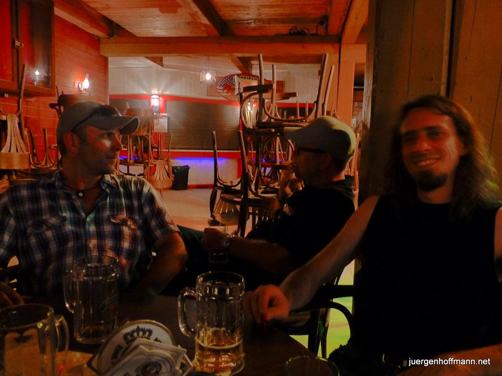 Nach dem Gig im Pullman Passau