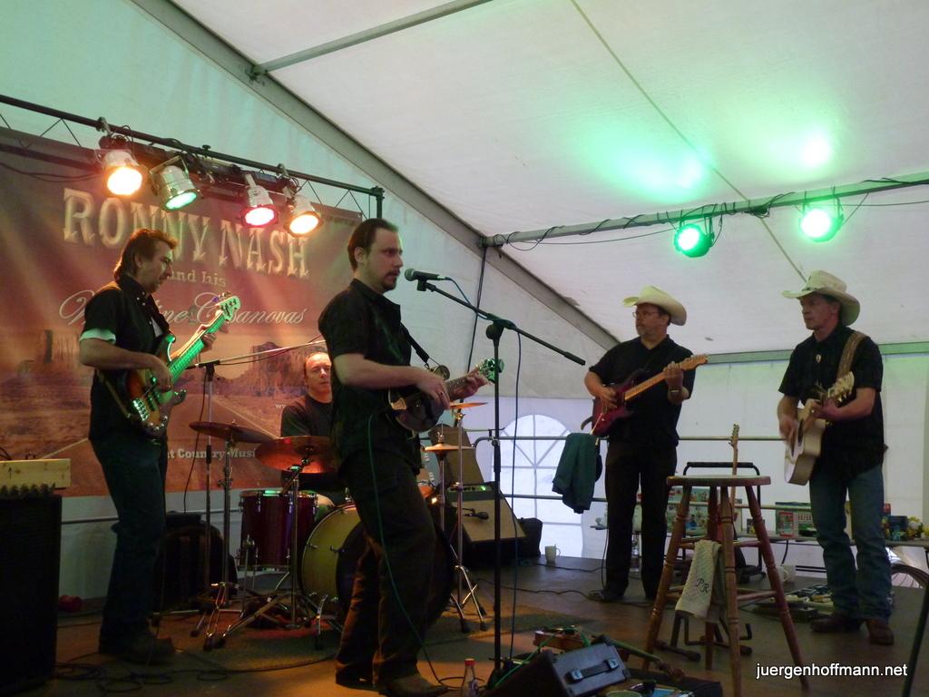Sub bei der Ronny Nash Band