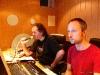 Mit Mark Bender im Studio