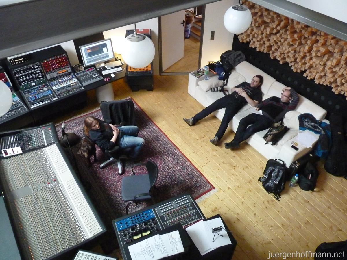 Im Tonstudio Katzer Nürnberg